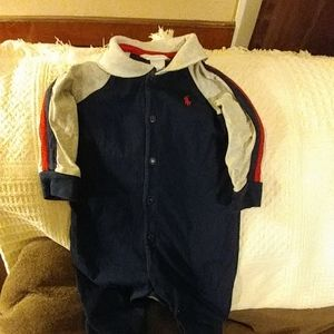 Ralph Lauren Baby Footed Sleeper